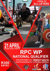 National Qualifier @ Perfect Health (WP)