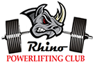 Rhino Powerlifting Club logo
